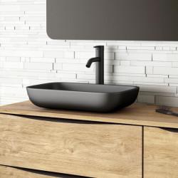 vasque-rectangulaire-resine-noire-51x33-cm-Etna-pose-sur-meuble-bois