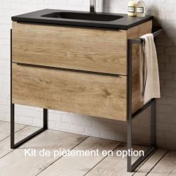 meuble-bois-2-tiroirs-broceliande-avec-pied-metal-style-industriel-optionnel