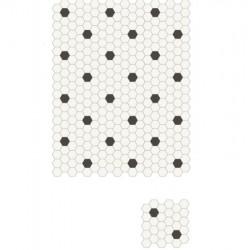 mosaique-decor-03-blanc-et-noir-hexagonale-55x62-mm