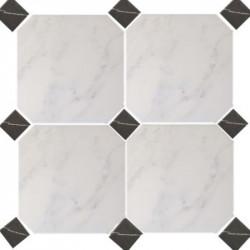 carrelage-20x20-octogonal-marbre-blanc-mat-a-cabochon-marbre-noir-mat