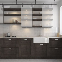 credence-de-cuisine-faience-marbre-blanc-brillant-carrelage-carrara-wall-evolution-75x300-mm-gloss