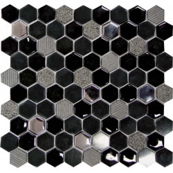 mosaique-hexagono-negro-pierre-verre