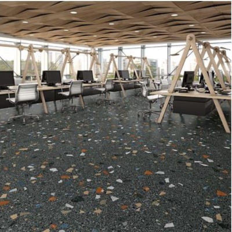 carrelage-granito-terrazo-80x80-sol-open-space-bureau-stracciatella-grafito