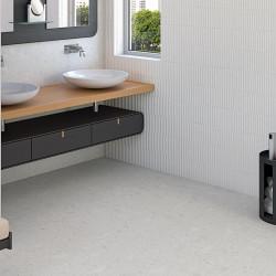 sol-et-murs-salle-de-bains-carrelage-aspect-terrazzo-granito-blanc-miscela-nacar-80X80