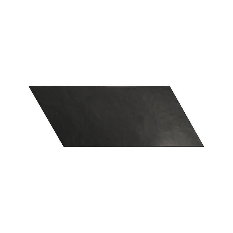 Carrelage-sol-chevron-negro-90x205-mm -right-noir-mat