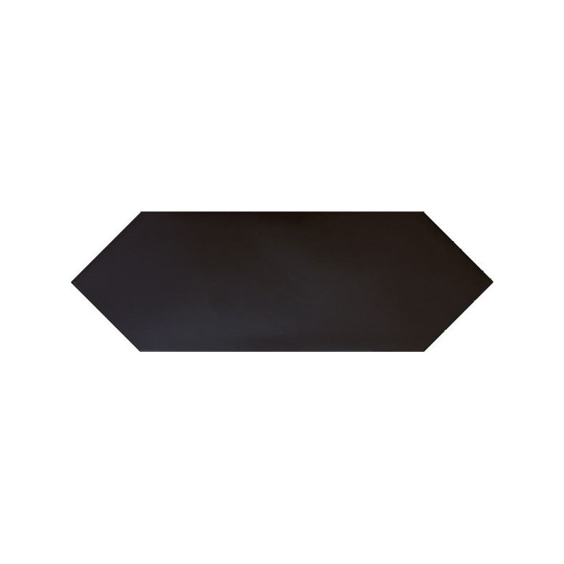 carrelage-forme-navette-losange-kite-black-10x30-noir-mat