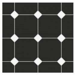 carrelage-20x20-octogone-nero-noir-mat-cabochons-blanc