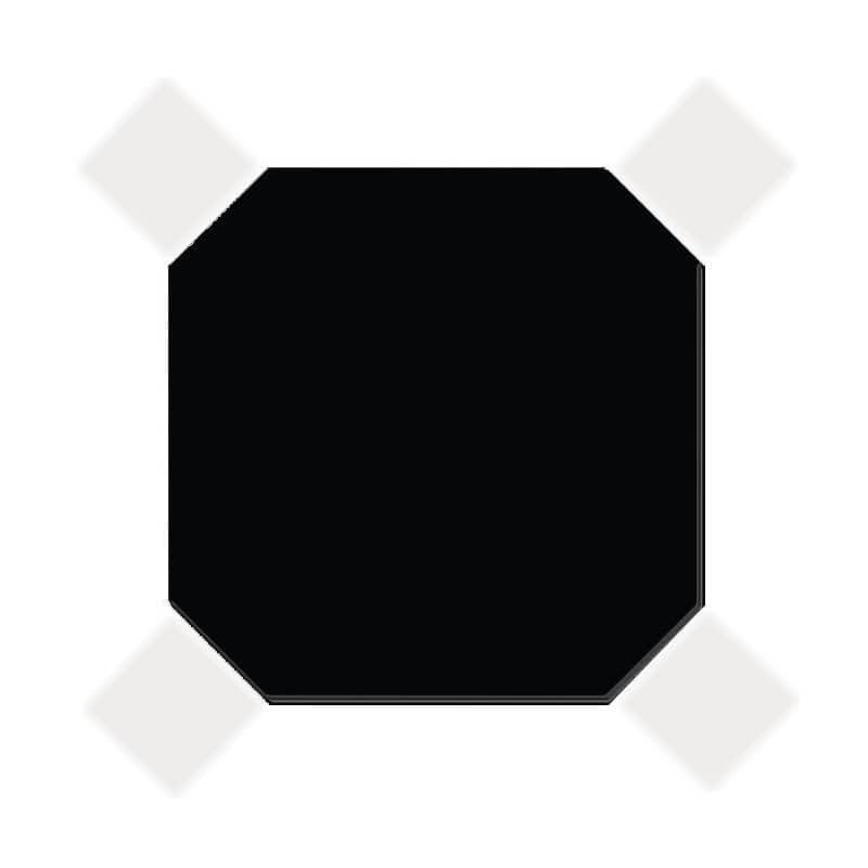 carrelage-20x20-octogone-nero-noir-mat-cabochons-blanc-mat