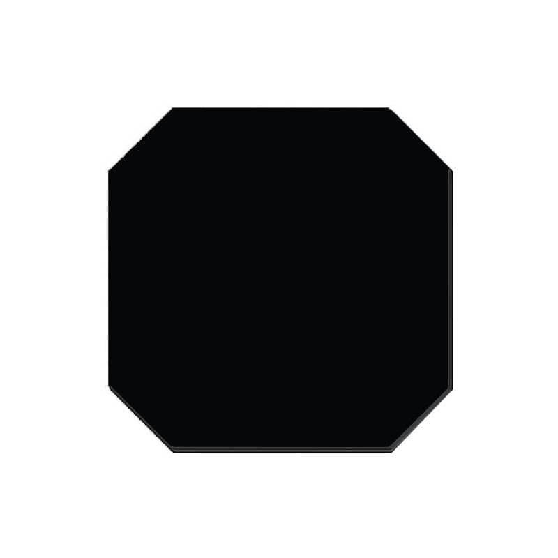 octogone-noir-mat-20x20