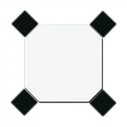 carreau-octogone-20x20-blanc-avec-coin-coupe-et-cabochon-noir