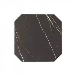 carrelage-octogonal-marbre-noir-octagon-marmol-negro-20x20-cabochon blanc-mat