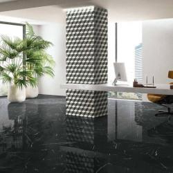 carrelage-sol-sejour-moderne-aspect-marbre-poli-noir-lineae-tenebrae-crystal-120x120