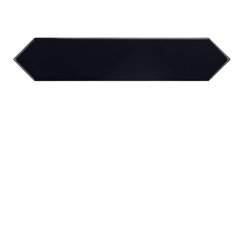 carrelage-navette-crayon-noir-brillant-arrow-black-5x25