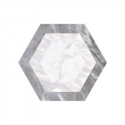 carrelage-sol-hexagonal-marbre-gris-bardiglio-décor-geometrique-175x200-mm