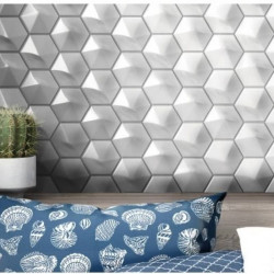 faience-magical3-blanc-brillant-124x107-umbrella-hexagone-relief-3d-mur-cuisine