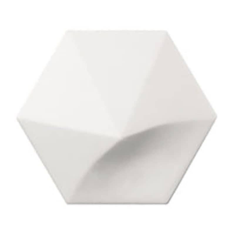 carrelage-hexagonal-relief-3d-magical3-white-matt-108x124-oberland
