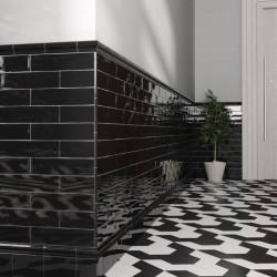 carrelage-carreau-metro-plat-noir-brillant-masia-negro-75x150-mm-hall-d-entree-esprit-retro-art-deco