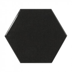 carrelage-mural-hexagonal-scale hexagon-black-124x107
