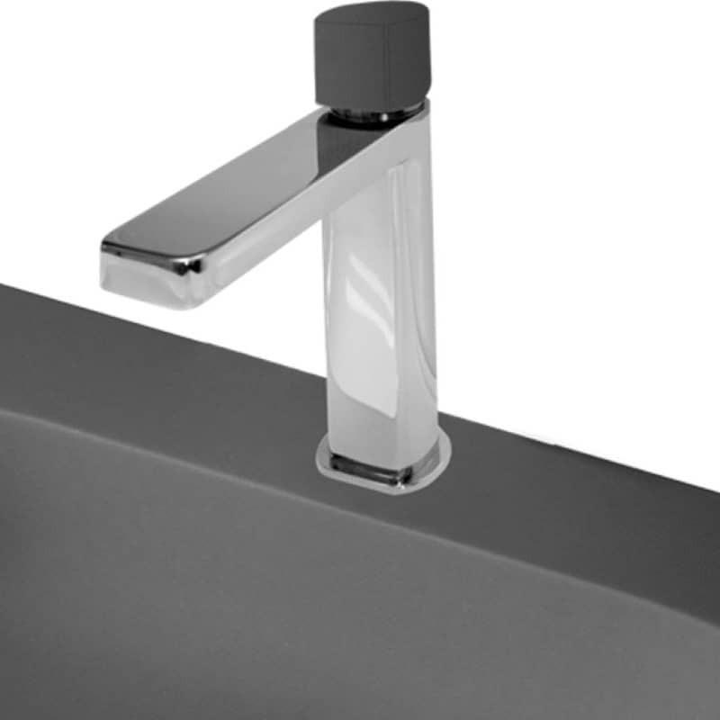 mitigeur-quadro-chrome-manette-noire