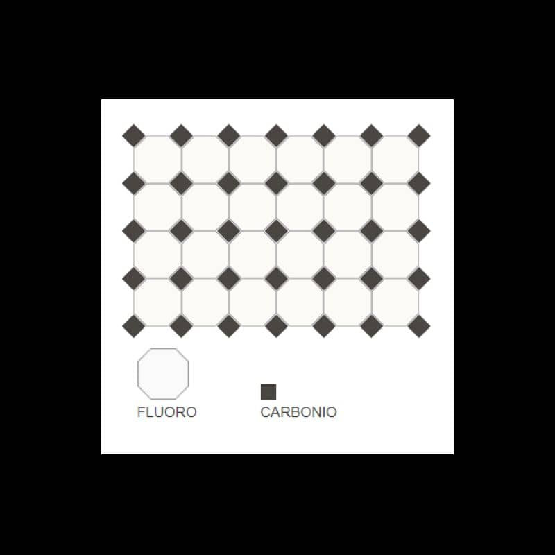carrelage-10x10-octogone-fluoro-blanc-cabochons-noir