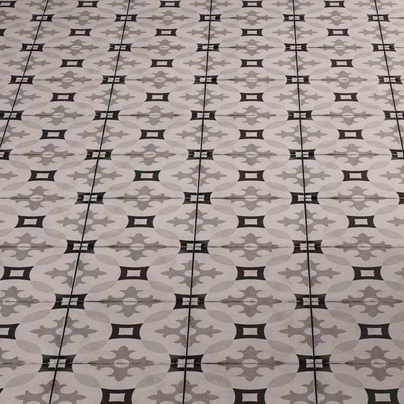 Carrelage-effet-carreau-de-ciment-decor-art-nouveau-Karlsplatz-grey-20x20-cm