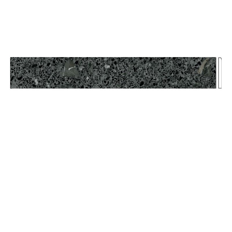 Plinthe-94x800-mm-Miscela-grafito-aspect-terrazzo-granito-noir
