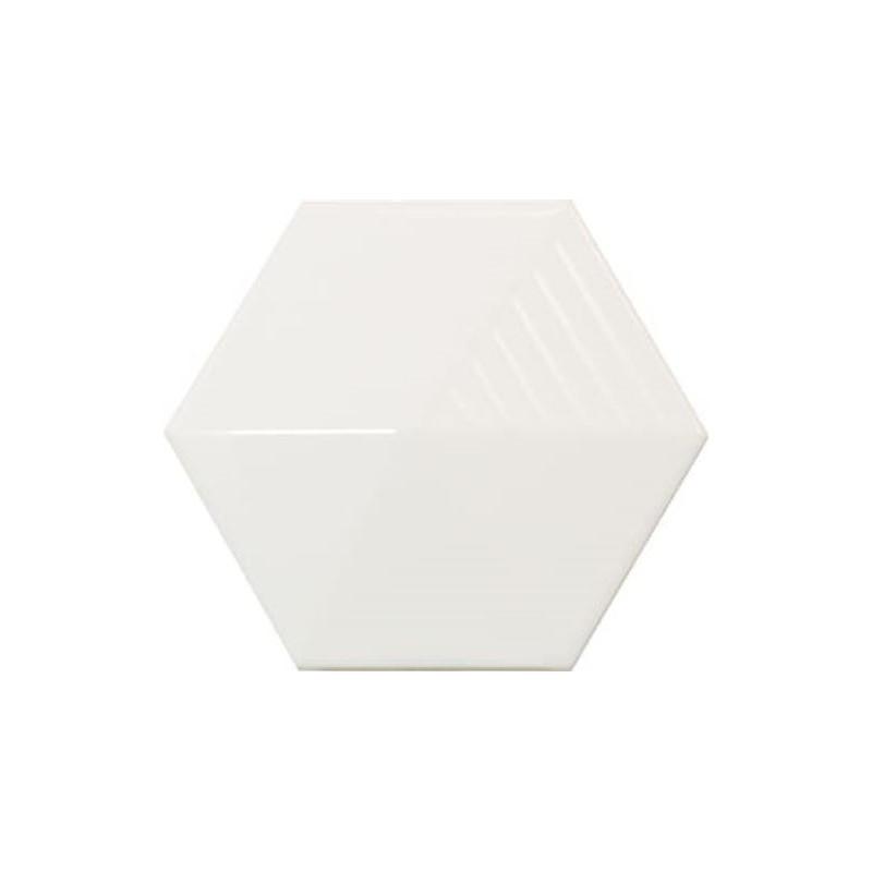 faience-relief-3d-umbrella-magical-3-white-blanc-brillant-124X107-hexagone