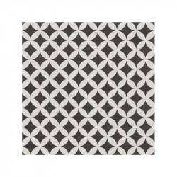 Carrelage-25x25-motif-ciment-etoile-noir-et-creme
