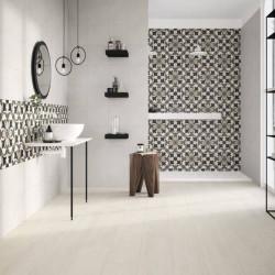 salle-d-eau-carrelage-motif-ciment-floral-associé-carreau-uni-creme-comfort-c-25x25