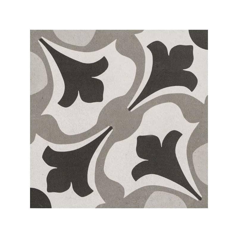 carreaux-imitation-ciment-25x25-motif-arabesque-ton-gris-noir