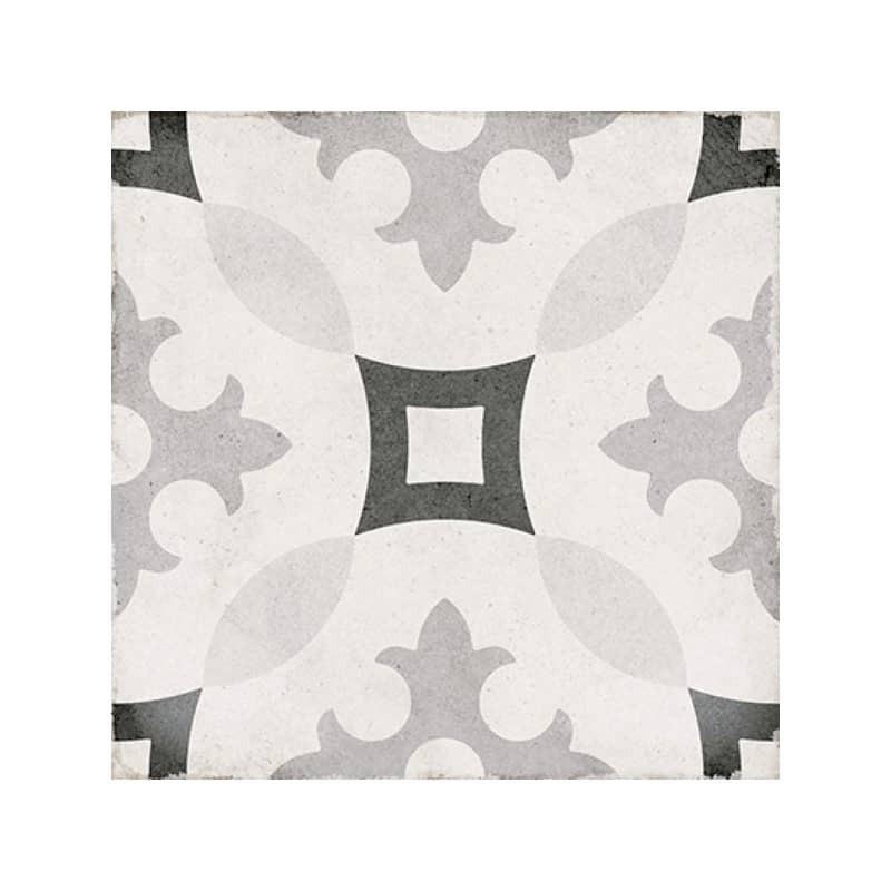 Carrelage-imitation-ciment-art-nouveau-karlsplatz-20x20-grey-a-motif