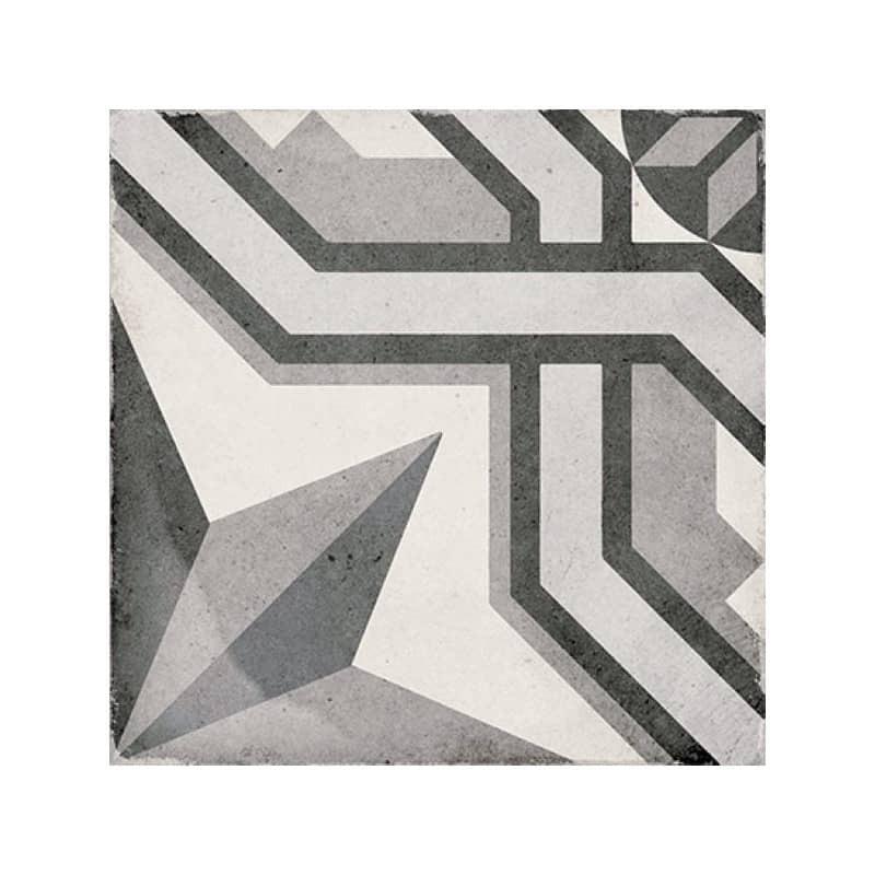 carrelage-imitation carreau--de-ciment-art-nouveau-cinema-20x20-grey-motif-etoile