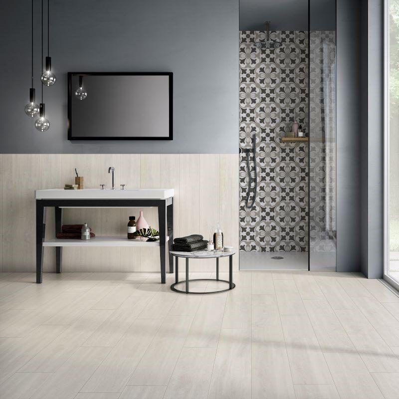 Sol-Carrelage-imitation-parquet-bois-blanc-20x120-cm-Comfort-W