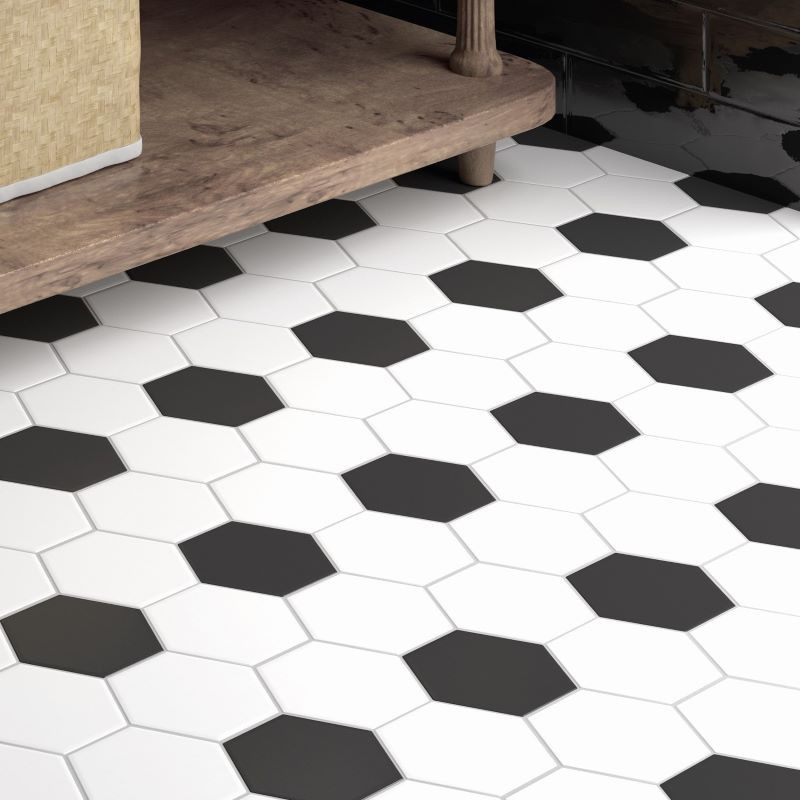 sol-salle-de-bains-carrelage-hexagonal-hexatile-blanc-noir-mat-175x200-mm