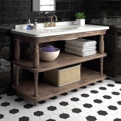 carrelage-hexagonal-hexatile-blanc-noir-mat-175x200-mm-au-sol-d-une-salle-de-bains-retro