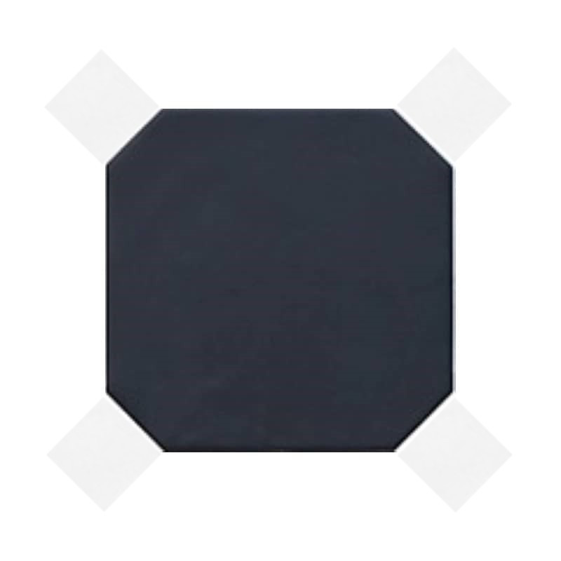 carrelage-sol-octogonal-a-cabochon-octagon-negro-mate-20x20-