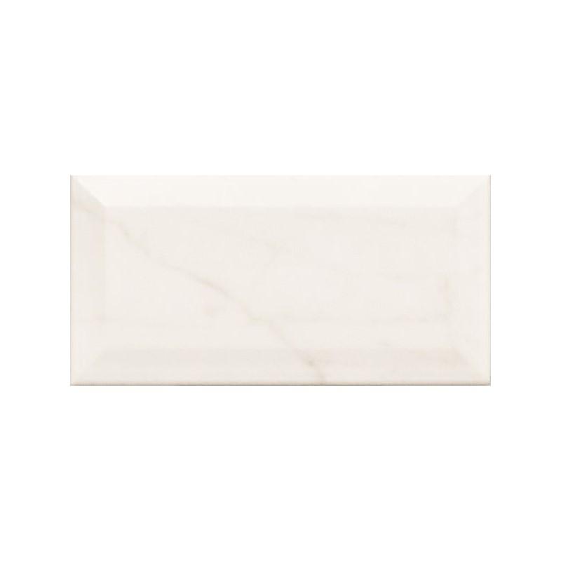 carreau-metro-75x150-imitation-marbre-blanc-veine-grise-brillant-biseaute-carrara-metro-gloss
