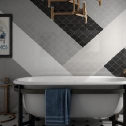 faience-arabesque-scale-black-matt-12x12-alhambra-murs-salle-de-bains-retro-avec-baignoire-sur-pieds