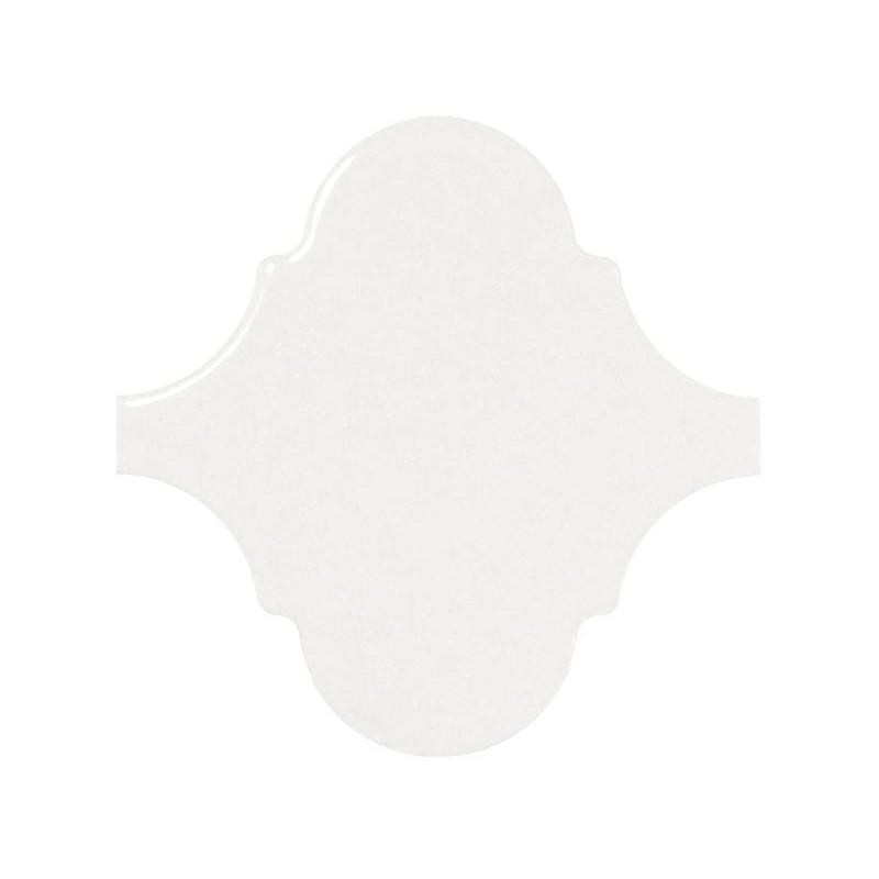 faience-arabesque-trefle-provencal-Scale-Alhambra-12x12-blanc-brillant