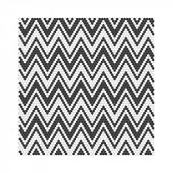 mosaique-emaux-de-verre-hexagonaux-decor-graphique-noir-et-blanc-allegro-black-&-white