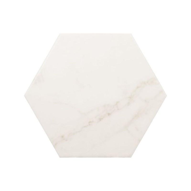 tomette-marbre-blanc-175x200-Carrara-hexagon-matt