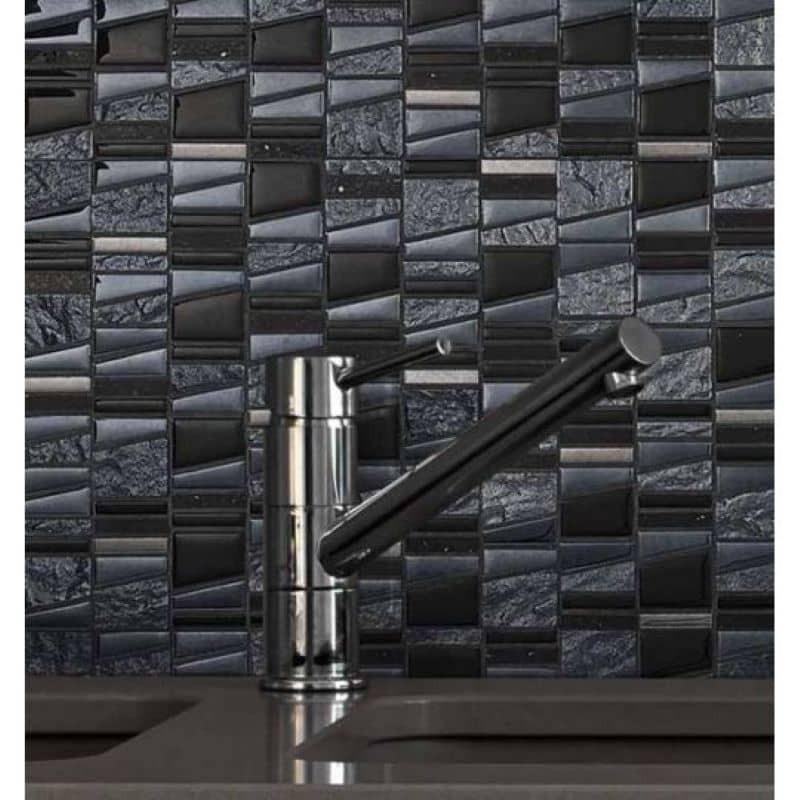 mosaique-verre-noire-differente-structure-trame-30x30-Asi-negro