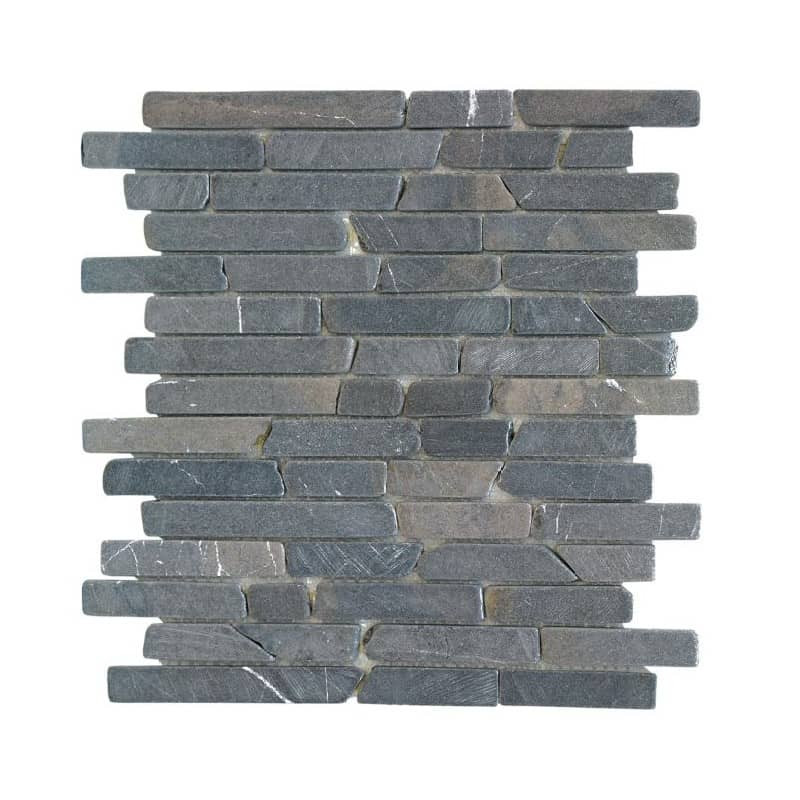 parement-mural-pierre-anthracite-Nusa-gris -anthracite-30x30