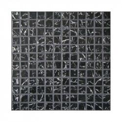 Emaux de verre 2.5x2.5 imitation marbre noir