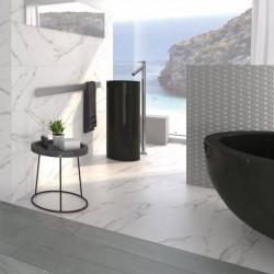 mur-et-sol-salle-de-bains-carrelage-aspect-marbre-blanc-mat-60x120