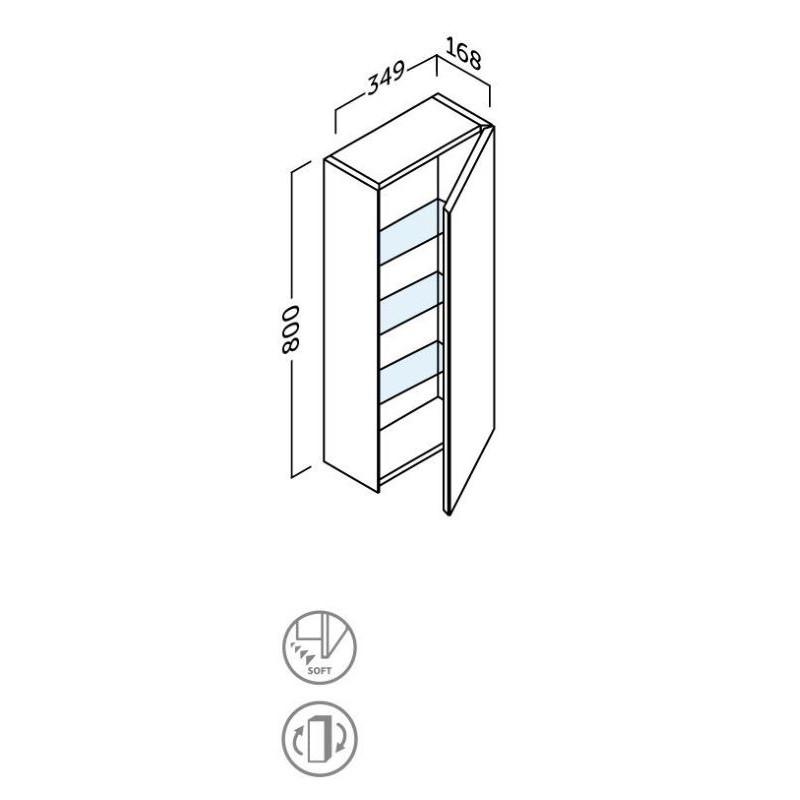 fiche-technique-Armoire-de-toilette-Sigma-H-80-cm
