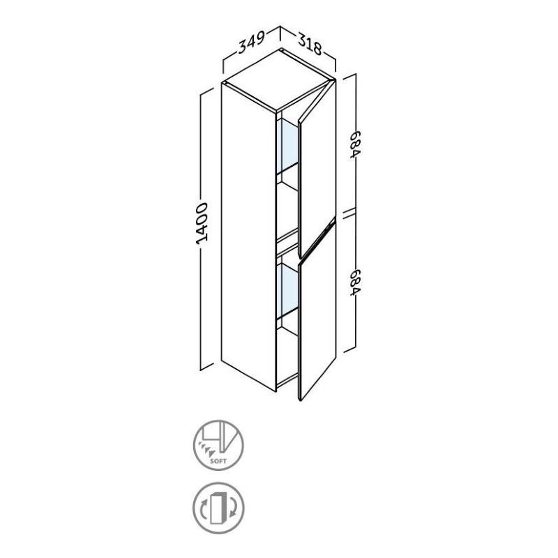colonne-sigma-140-cm-fiche-technique