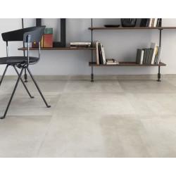 sol-carrelage-entropia-bianco-effet-beton-brut-nuancé-60x60-non-rectifie-