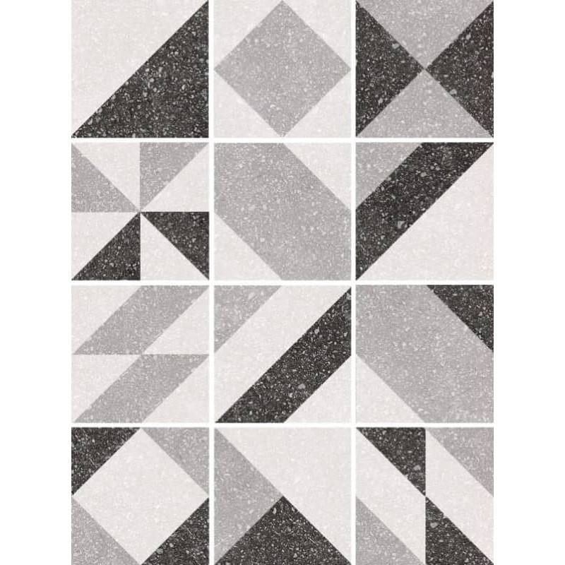 carreau-aspect-granito--motif-geomatrique-elements-grey-20x20-12-motifs-differents