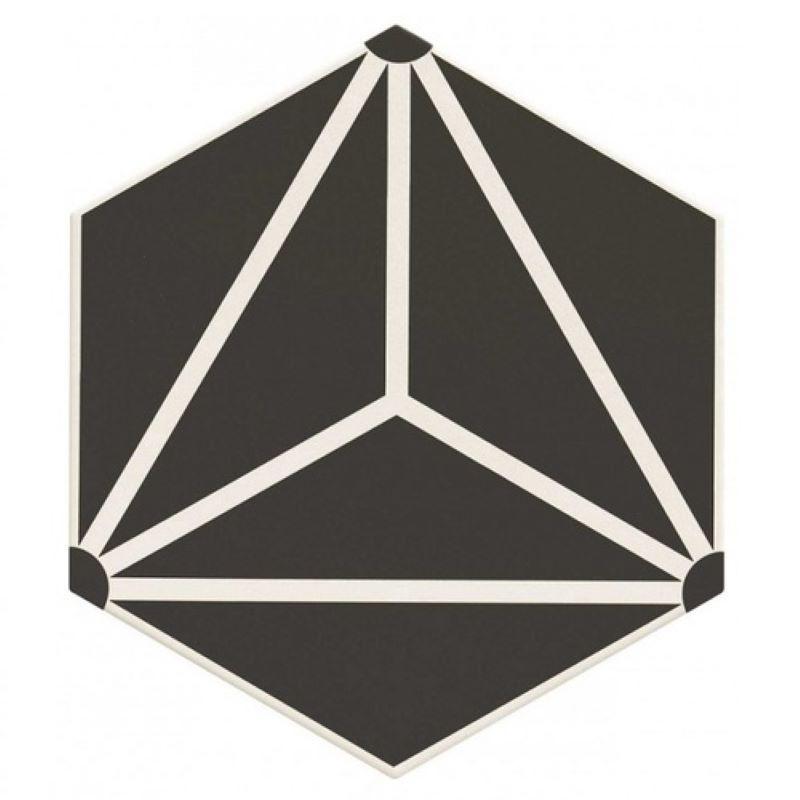 Carrelage-hexagonal-decor-geometrique-330x285-mm-Osaka-black